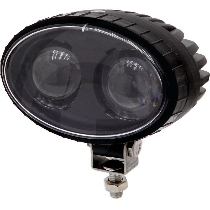 Modrá LED výstražná světla na vysokozdvižné vozíky VZV Bluepoint napětí 10-60 V