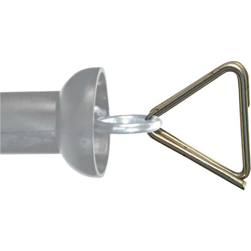 Chapron nerezová redukce na pásku 40 mm pro rukojeť k bráně pro el. ohradník balení 5 ks