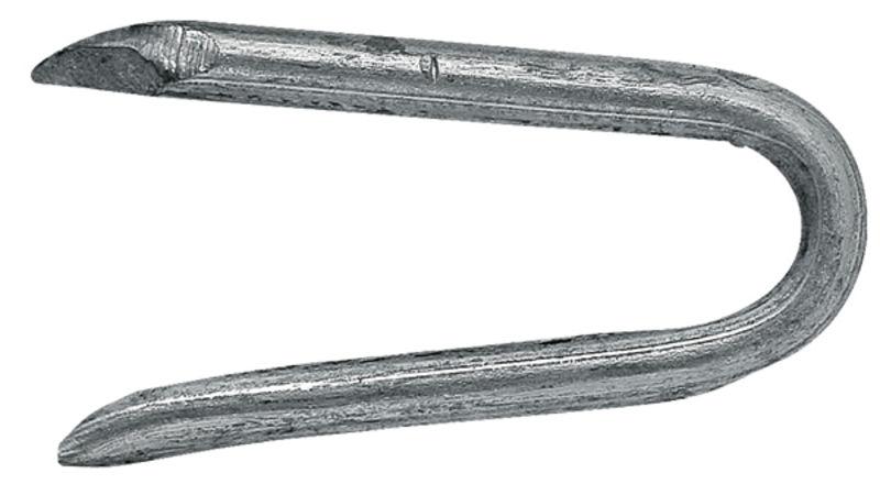 Zinkovaná skoba k upevnění ostnatého drátu, spona na ohradní pletivo 3x38 mm balení 5 kg
