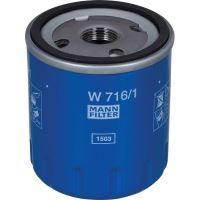 MANN FILTER W716/1 filtr motorového oleje vhodný pro Belarus