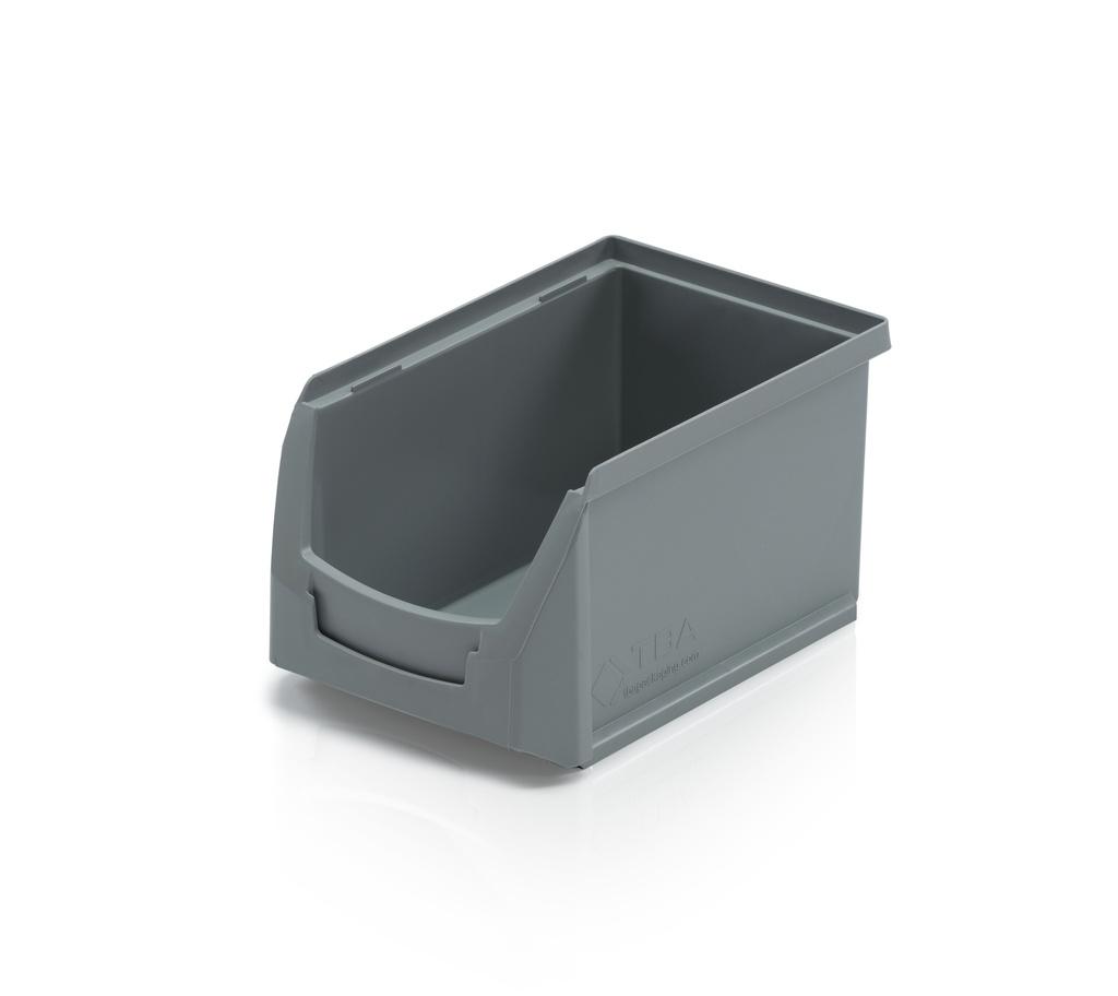 Stohovatelný ukládací box B střední plastový na drobné díly, hřebíky, šrouby a matky