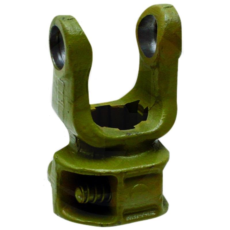 Nasazovací nábojová vidlice kardanové hřídele Blueline F23, B4, 1 3/8″ 6 zubů