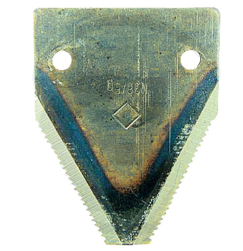 Žabka na žací lištu spodní ozubení úzká vhodná pro Mörtl tloušťka 2 mm