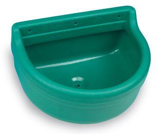 Nástěnný půlkruhový plastový žlab GAUN Pegaso pro koně, skot a kozy