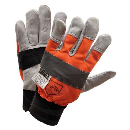 Lesnické rukavice s ochranou proti proříznutí velikost 10 - L