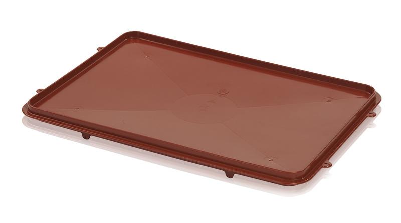 Víko vhodné pro plastové přepravky na maso potraviny typu T25 a T50