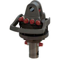 Hydraulický rotátor Baltrotors GR30 na drapák na dřevo pro vyvážečky, nakladače