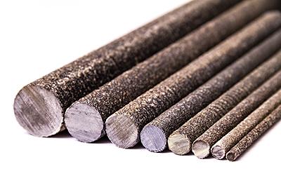 Kompozitní tyčka, tyč 150 cm pro elektrický ohradník průměr 8 mm