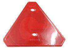 Odrazka trojúhelníková červená Granit