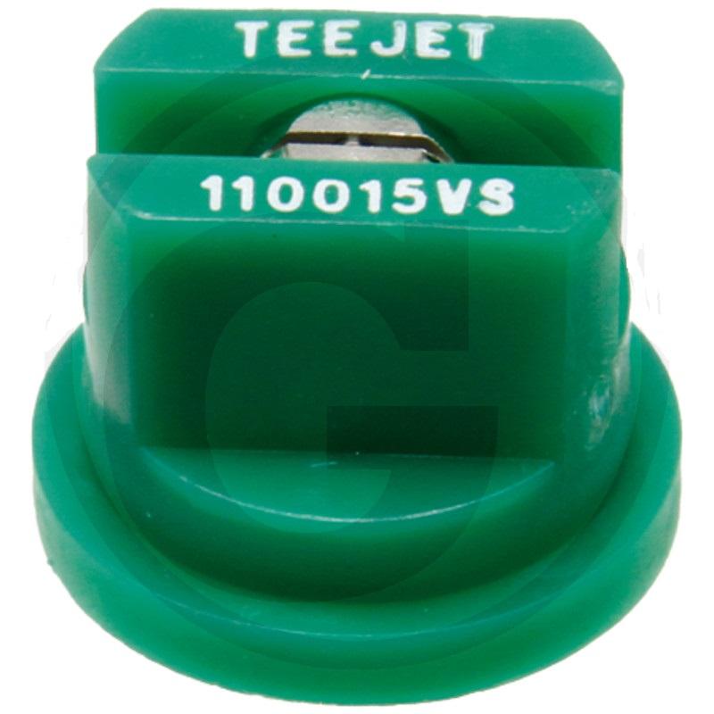 TEEJET postřikovací tryska VisiFlo s plochou charakteristikou 110°
