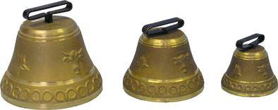 Pastevní zvonec litý z mosazi průměr 180 mm