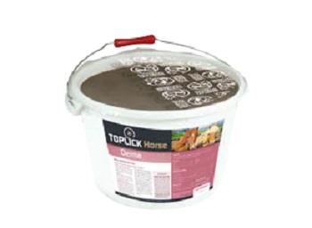 Antidopingový minerální liz TOPLICK Horse Derma pro koně 15 kg na kůži, kopyta s česnekem