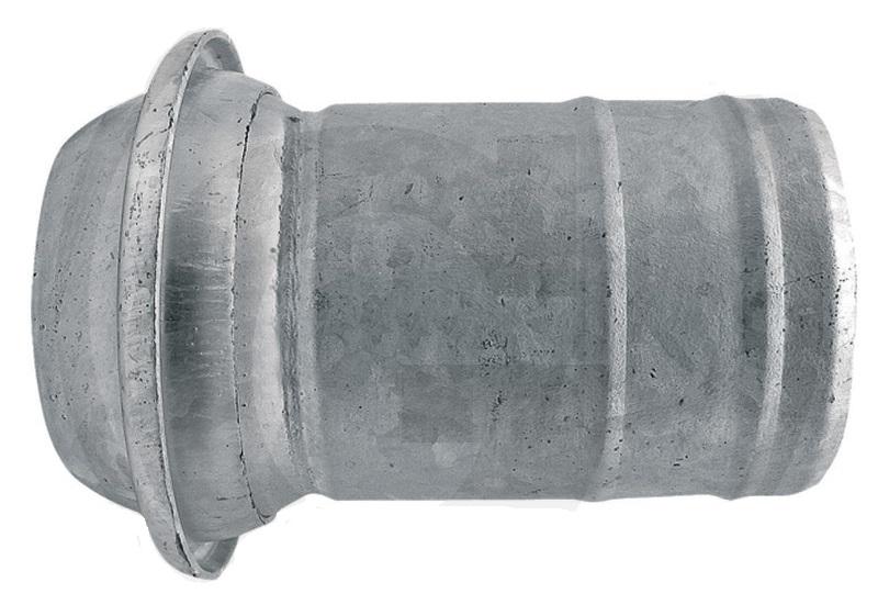 """Berselli Ital díl samec 4"""" A=100 mm spojky pro fekální vozy s hadicovým nátrubkem"""