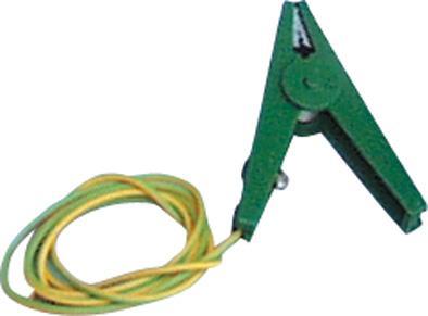 Zemnící propojovací kabel 1 m s klemou