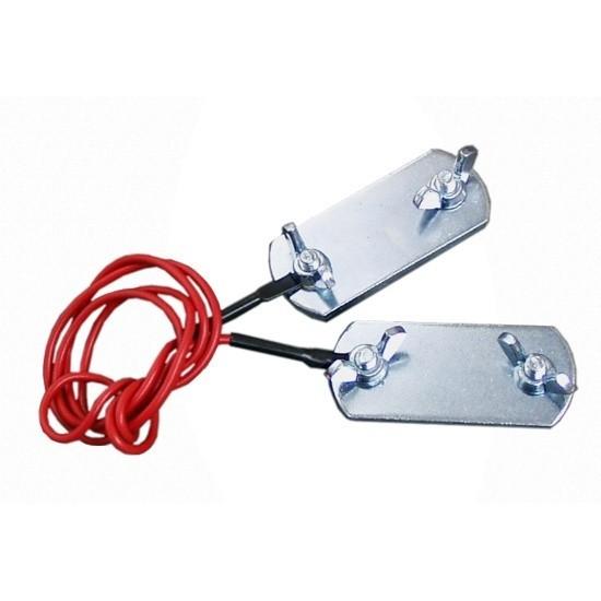 Propojovací kabel 60 cm mezi páskami elektrického ohradníku 2 klemy na pásky do 40 mm