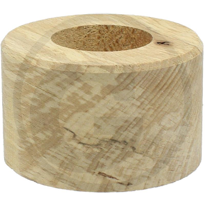 Ložisko drobícího válce z tvrdého dřeva vhodné pro různé výrobce průměry 30 x 64,5 x 40 mm