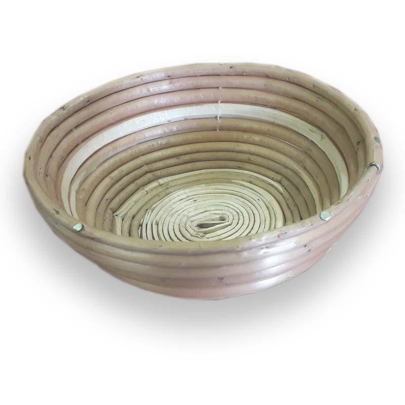 Ošatka na kynutí chleba proutěná kulatá na 1 kg těsta