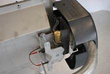 Nerezový napájecí výklopný žlab La GÉE Polynox 225 nástěnný vyhřívaný 80W/24V