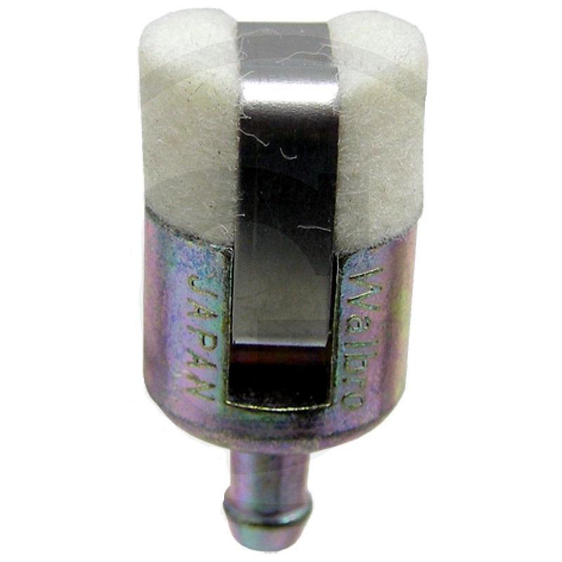 Sací palivový filtr s filcem pro karburátory motorové pily Walbro průměr 15 mm výška 30 mm
