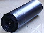 Silážní plachta 12 x 50 m, 150 mi., černá
