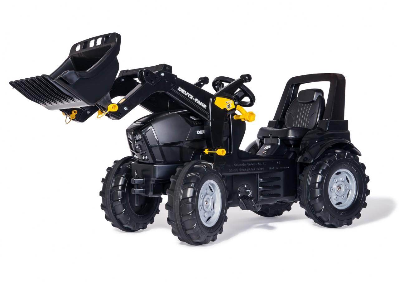 Rolly Toys - šlapací traktor s čelním nakladačem Deutz Agrotron TTV Warrior Rolly FarmTrac