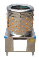Škubačka drůbeže bubnová BEEKETAL BRM 2250 na husy a krůty do 25 kg 233 prstů - použitá