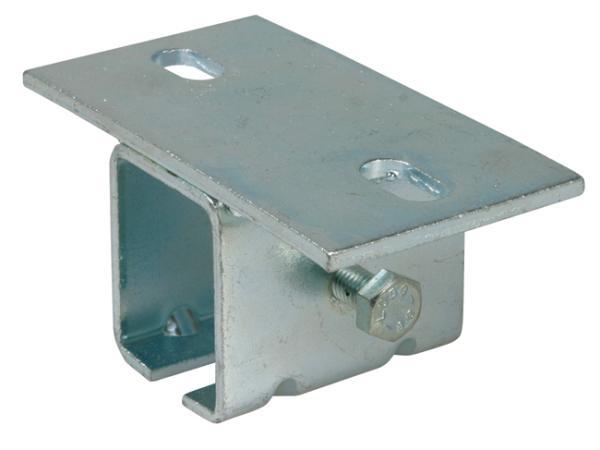 Stropní držák kolejnice 339M střední pro zavěšená vrata do 450 kg