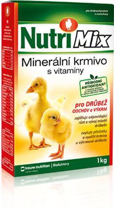 Nutrimix pro výkrm a odchov drůbeže, vitamíny pro kuřata, kachňata, housata, krůťata