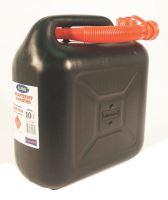 Plastový kanystr na palivo černý 10 l