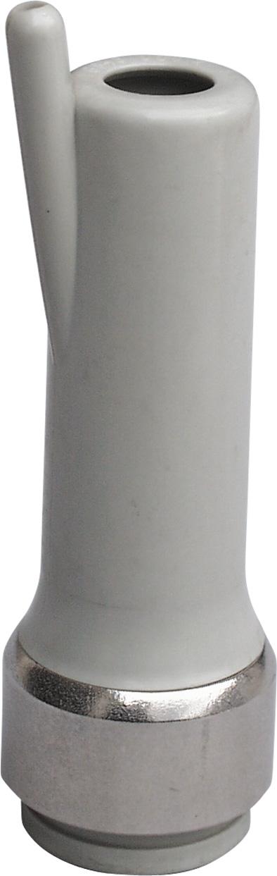 Strukové pouzdro dojačky plastové