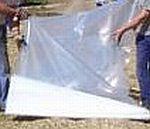 Silážní plachta podkladová - mikroplachta 16 x 50 m, 0,04 mm, čirá