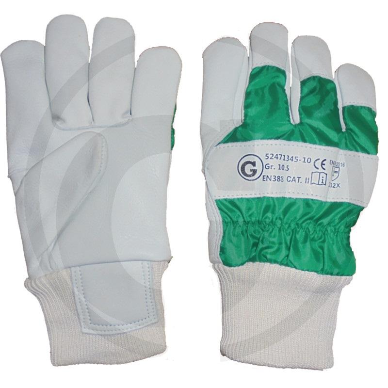 Lesnické rukavice Forst z hovězí kůže
