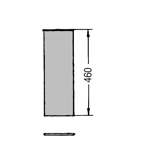 OKR 160 Trubka Kongskilde teleskopická 0,5 m pozinkovaná