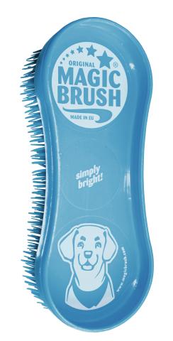 Kartáč plastový na čištění psa MagicBrush DOG