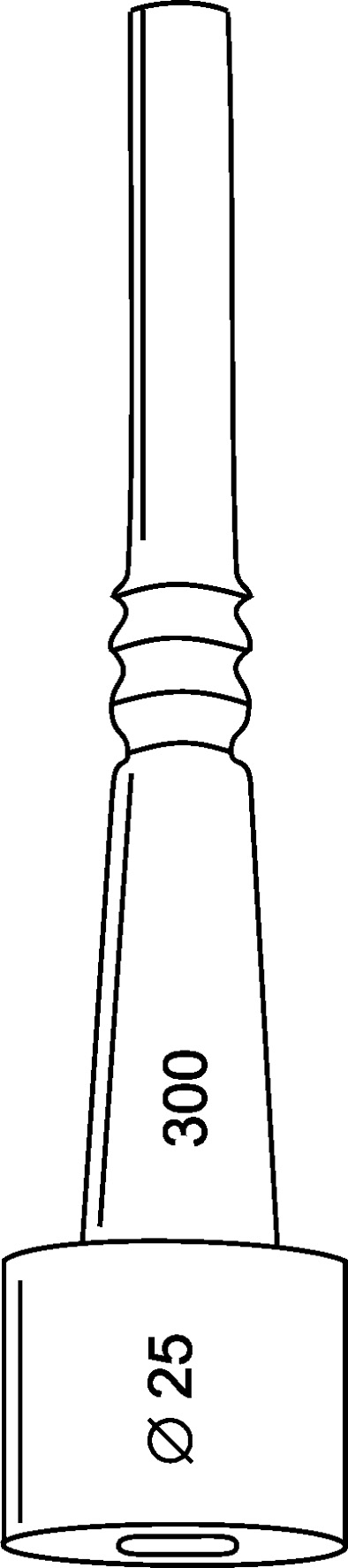 Strukové gumy AGS ITSPA 25 x 300 mm 3-drážková na dojení Agrostroj (4)