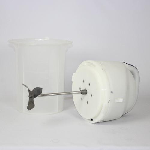 Elektrická máselnice na výrobu másla MOTOR SICH MBE6 plastová 6 l  230V (2)