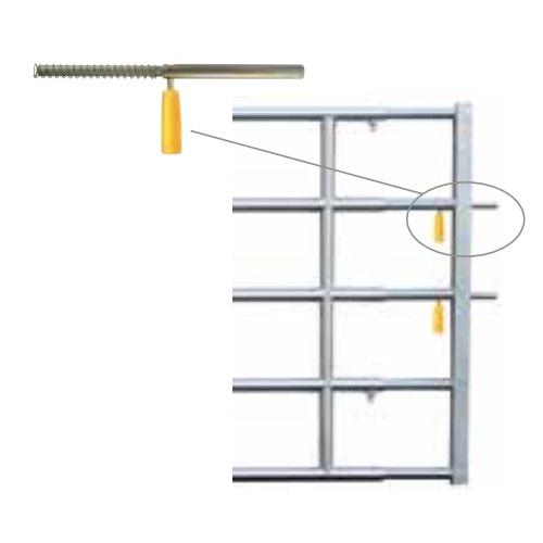 Náhradní automatický zámek Easylock s rukojetí a pružinou pro panelové pastevní brány