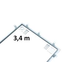 Instalační sada pro osazení váhy 3,4 x 1 m
