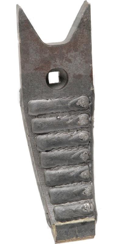 Hrot dláto radlice pro Köckerling Topmix Heavy Duty s potažením rozměry 80 x 20 x 260 mm