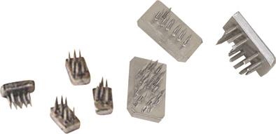Tetovací čísla 0-9, 7 mm niklované