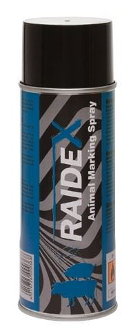 Značkovací sprej RAIDEX 400 ml modrý  k označování skotu, prasat a koz