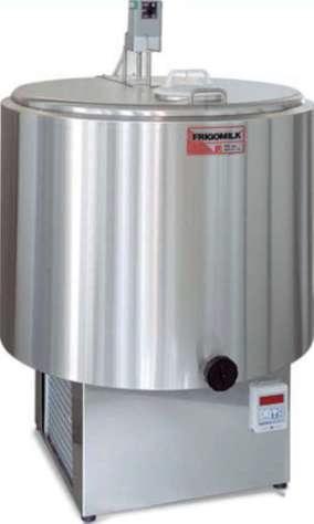 Chladící tank na mléko Frigomilk G1 na chlazení 100 l mléka, 2 nádoje