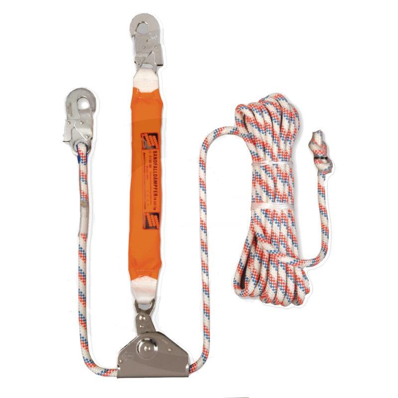 Zachycovač pádu Stopp-Line pro práci na stromech DIN EN 353-2 lano 20 m 11,9 mm