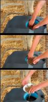 Misková napáječka La GÉE Polytherme 2B 75  pro koně, dobytek, kozy a ovce s dvěma miskami