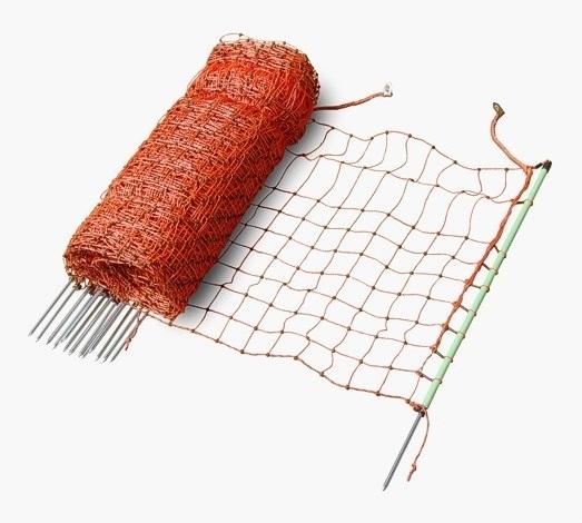 Vodivá ovčí, drůbeží síť ExtraNet 112 cm/50 m 1 hrot pro elektrický ohradník