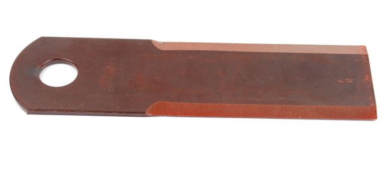 Nůž do drtiče slámy Rasspe hladký pro Biso, Deutz, JD, MF, NH tloušťka 3 mm