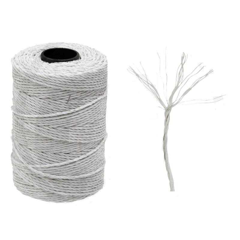 Ohradníkové lanko Granit bílé 3 mm/200 m polyetylénové odpor 3,87 Ohm/m