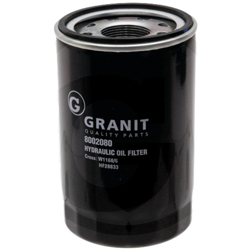 Granit 8002080 filtr hydraulického/převodového oleje vhodný pro Fiat, Ford, New Holland