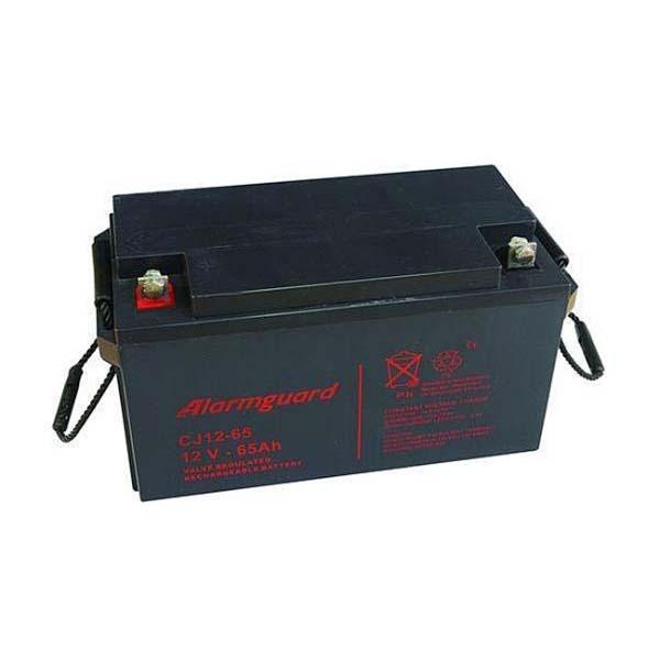 Gelová baterie pro elektrický ohradník 12V 65Ah ALARMGUARD bezúdržbová dobíjecí