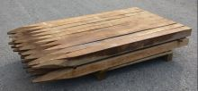 Dřevěný kůl hranatý dubový 150 cm 100 x 100 mm na ohradu